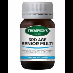 Thompsons 3rd Age Senior Multi 30 Capsules