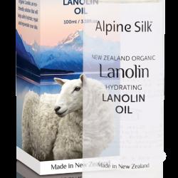 Alpine Silk organic lanolin firming lanolin oil 100ml 【new vision】