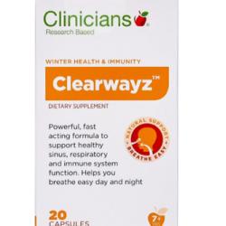 CLINICIANS - Clearwayz 20s