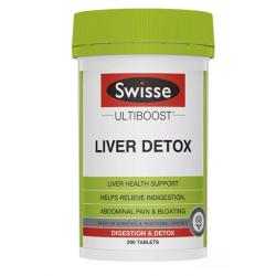 Swisse Liver Detox 200t