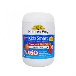 Nature's Way Kids Smart Burstlets Omega-3 Fish Oil Trio 180 Pastilles