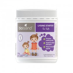 Bioislan Lysine Starter for Kids 150g Oral Powderd 生物岛 赖氨酸黄金助长素 助长粉 生长素 4周-5岁适用 (一段) 150g