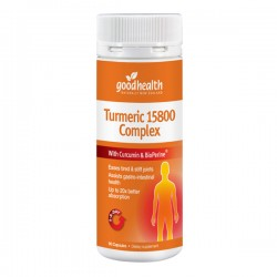 Good health Turmeric 15800 complex 60s