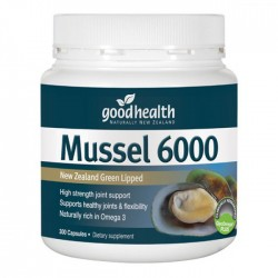 Good Health Mussel 300 capsules 6000mg