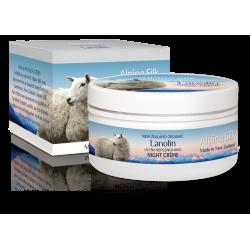Alpine Silk organic lanolin ultra replenishing night creme 100g