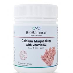Biobalance Calcium Magnesium+Vitamin D3 120c