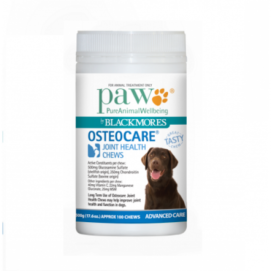 Blackmores PAW Osteocare® Joint Health Chews 500g