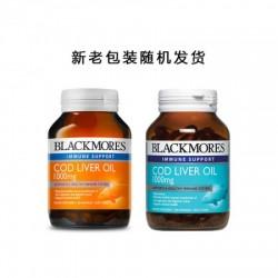 Blackmores  Cod Liver Oil 1000mg 80 Caps