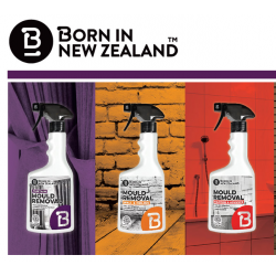 Born in New Zealand MOULD REMOVAL 【Curtain, Wall & Ceiling, Silicone & Advanced】500ml