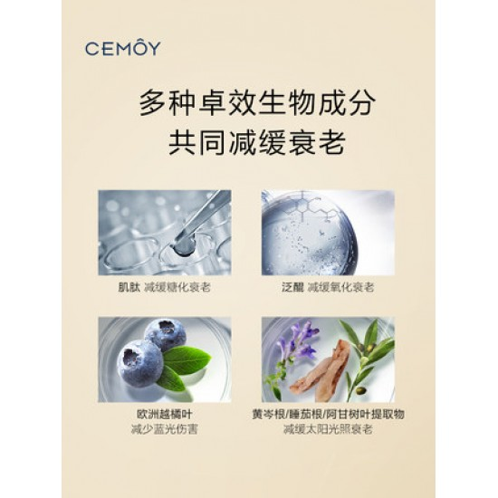 CEMOY Priming Luminous Tint Re-vital Expert Defence SPF 50+ PA++++ Sunscreen Lotion 50g