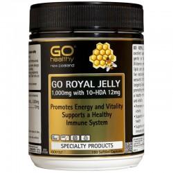 Go Healthy Go Royal Jelly 1000mg 10-HDA 12mg  180s