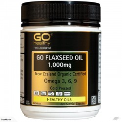 GO Healthy GO Flaxseed Oil 1000mg 220 Capsules