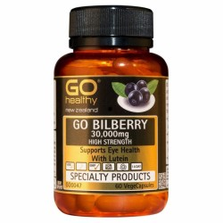 GO Healthy Bilberry 30,000 60s