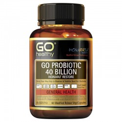 Go Healthy GO PROBIOTIC 40 BILLION 60c