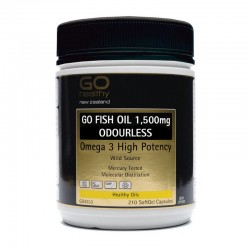 GO Healthy GO Healthy GO FISH OIL ODOURLESS 210s