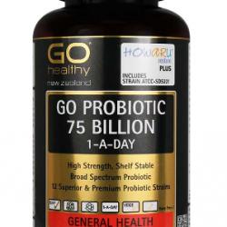 Go Healthy GO PROBIOTIC 75 BILLION 60s