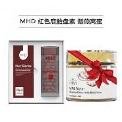 【Promotion】MHD NutriCenta Deer Placenta(Red Edition) 60 capsules