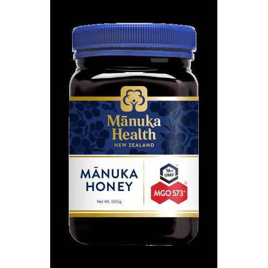 【新包装】Manuka Health 蜜纽康 麦卢卡活性蜂蜜 MGO573+/UMF 16+ 500g【保质期2023/04】