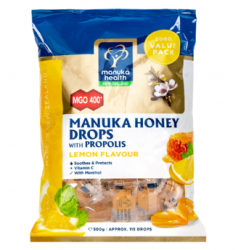 Manuka Health honey Lozenges with Propolis 500g MGO400