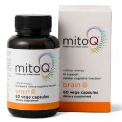MitoQ brain 60 vege capsules