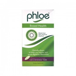 Phloe Bowel Health 120 Chewable Tablets