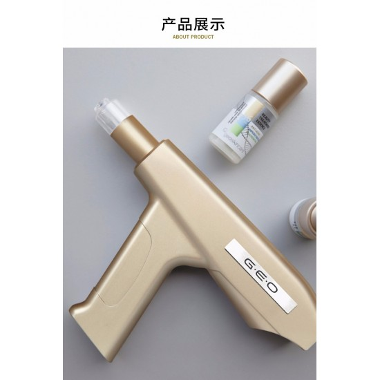 geo skincare nanochip beauty instrument ( inl: Hyaluronic Acid serum*4)