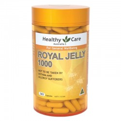 Healthy Care Royal Jelly 1000 365 Capsules