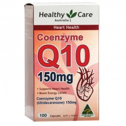 Healthy Care CoEnzyme Q10 150mg 100 Capsules