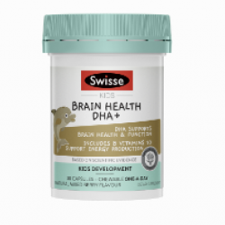 Swisse Kids Brain Health DHA+ 30c