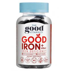 The Good Vitamin CO Good Iron+ Vita-C Soft Chews 90 - Wild Blackcurrant