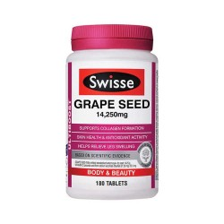 Swisse Grape Seed 180c( 14250mg)
