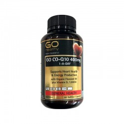 Go Healthy GO CO-Q10 400mg 1-A-DAY 60s
