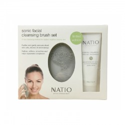 Natio Sonic Facial Cleaning Brush Set
